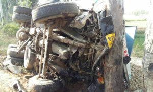 Road Accident, Tavera-Truck, Clash, Died, Injured