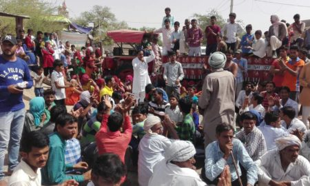 Rural, Angry, Demand, Alcoholism, Against, Rajasthan