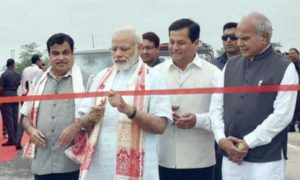 PM, Narendra Modi, Inaugaration, Mahasatu, Bridge, Assam