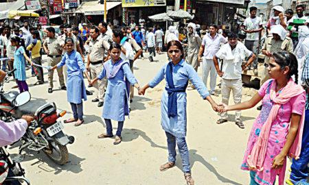 Girls, Protest, Result, 10th, Bhiwani Board, Raised, Strike