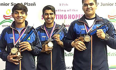 Anmol Jain, Won, Gold, Silver, Shooting, Hansraj College