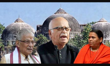 Ayodhya Case, Conspiracy, Case, LK Advani, Murli Manohar Joshi, Uma Bharati