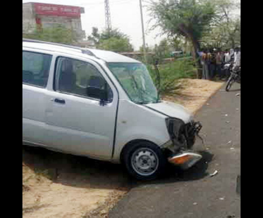Car, Accident, Jaipur, Injured, Hospital, Treatment