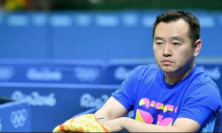 China, Olympic Champion, Coach, Suspends, Court, Table Tennis