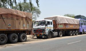 Blockade, Vehicles, Check, Bus, Rajasthan