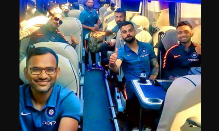 Team, India, Reached, England, Cricket, Twitter
