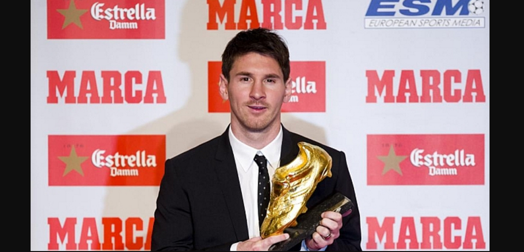 Lionel Messi, Won, European Golden Shoe, Football