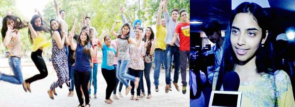 CBSE Board, 12th, Results, Declared, International School, Topper, Raksha, Noida