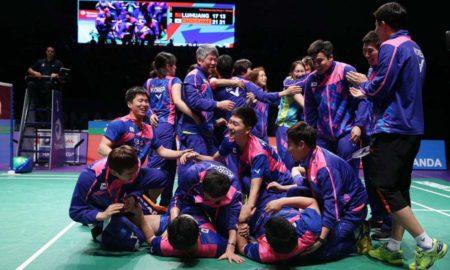 South Korea, Sudirman Cup, Champion, Win, Badminton