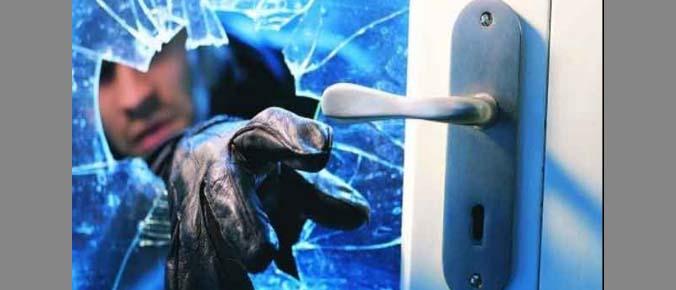 Thief, Break Window, Police, CCTV, Rajasthan