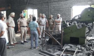 Death, Pump Blast, Iron Factory, Punjab