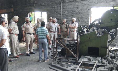 Death, Pump Blast, Iron Factory, Punjab