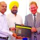 Signing, Agreement, Employment, Training, Punjab, UK