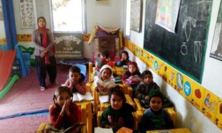 Hindustan Jink, Anganwadi, Lap, Facility