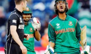 Bangladesh, Beat, New Zealand, Cricket, Sports, Champions Trophy