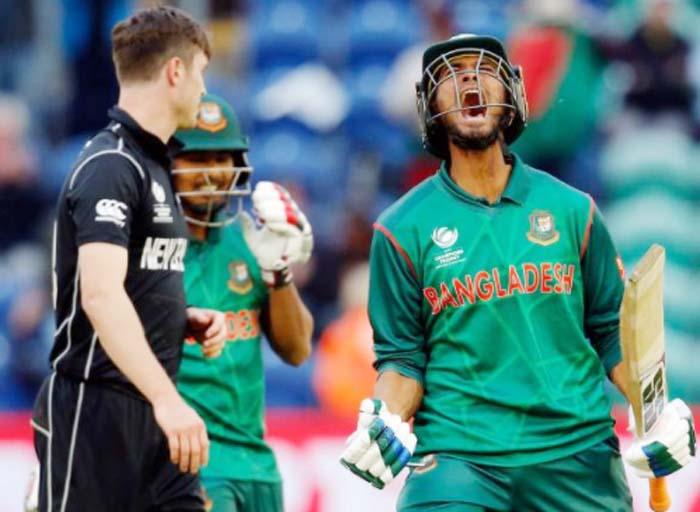Bangladesh, Beat, New Zealand, Cricket, Sports, Champions Trophy