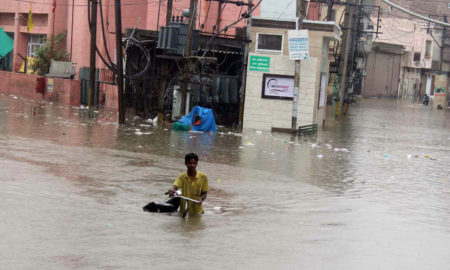 Torrential Rain, Death, Flooding, Electric Shock, Punjab