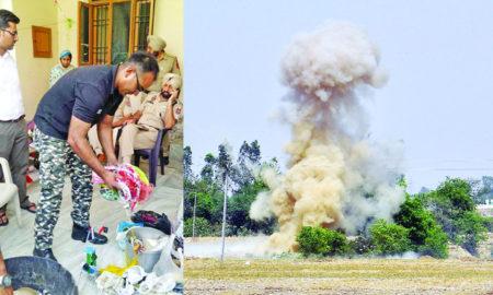 Sensational, Disclosure, Bomb Making, Destroyed 15 Bombs