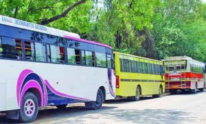 Surgical Strike, Illegal Buses, Permit, Checking, Barnala, Punjab
