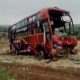 Bus, Fall, Ditch, Died, Accident, High Speed, Wounded