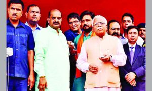 CM, MLKhattar, Inaugurates, Launch, Saplings, Haryana