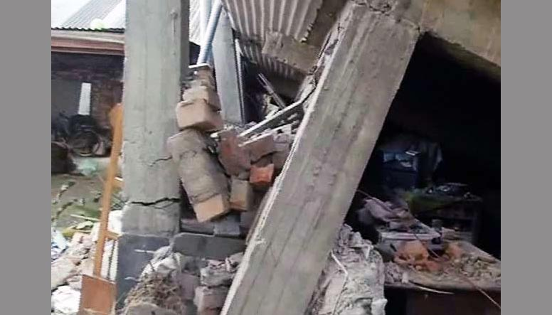 Earthquake, Manipur, Tower, Collapses, Injured