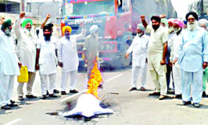 Farmers, Protest, Strike, Raised, Manpreet Singh Badal, Punjab