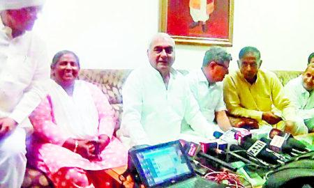 Former, CM, Bhupinder Singh Hooda, CBI, ID, Workers, Repoters