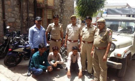 Vehicle Thieves, Gang, Arrested, Police, Bike, Car, Rajasthan
