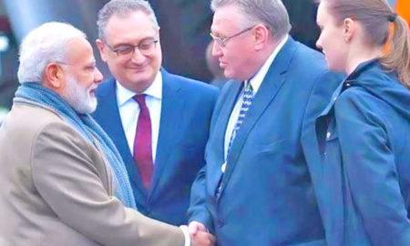 Narendra Modi, Putin, Russia, India, SPIEF