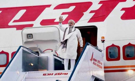 PM, Narendra Modi, Departs, 3 Countries, US