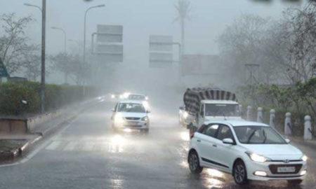 Temperature, Drop, People, Relief, Rain, Jaipur, Rajasthan