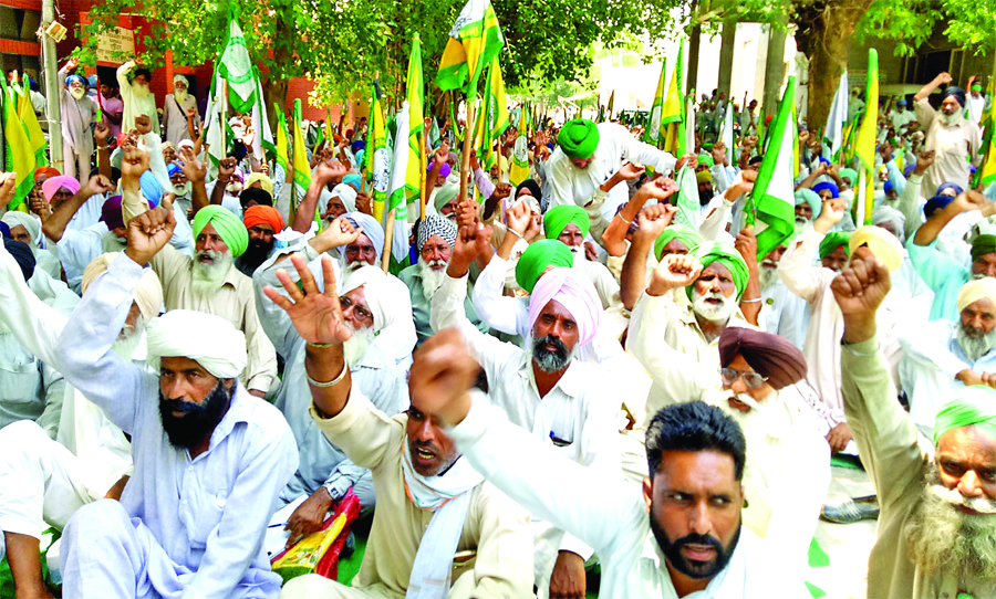 Farmers, Protest, Captain Govt, Demand, Raised, Strike