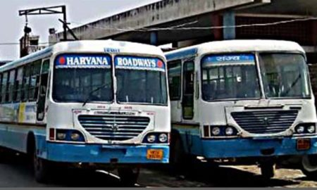 Hissar Depot, Buses, Closed, Haryana Roadways, Raised, Workers, Roadways union