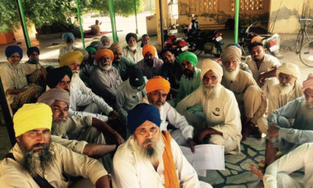 Organizing, Meetings, Indian Farmers Union, Anti Policy, Government, Punjab