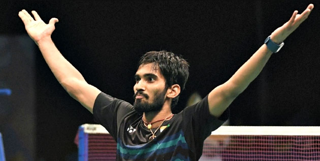 Srikanth Kidambi, SemiFinals, Badminton, Australian Open Super Series