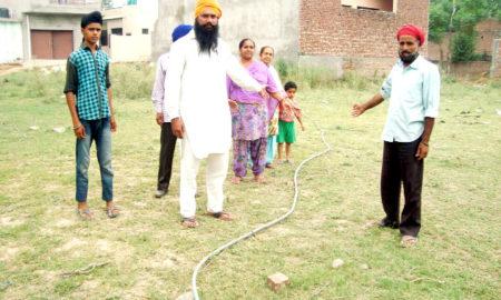 High Voltage, Wire, Land, Danger, Accident, Punjab