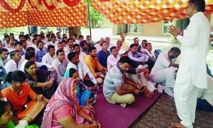 Power Workers, Protest, Division Office, Villagers, Raised