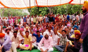 Labourers, Protest, Punjab Govt, Workers
