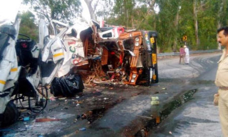 Death, Truck, Container, Accident, Police, Postmortem, Rajasthan