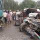 Death, Road Accident, Injured, Car, Bus, Punjab