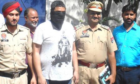 Gangster, Arrested, Weapon, Car, Recovered, Case, Punjab