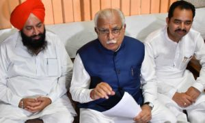 Manohar Lal Khattar, GST, Business Sector, Government, Haryana