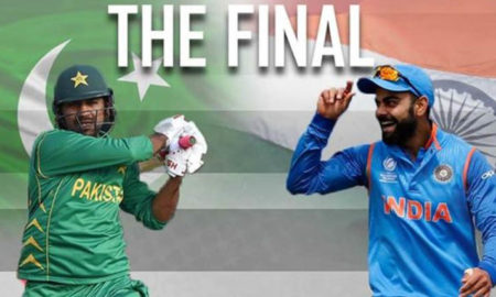 India, Pakistan, Fight, ICC Champion Trophy, Cricket