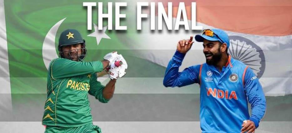 India, Pakistan, Fight, ICC Champion Trophy, Cricket