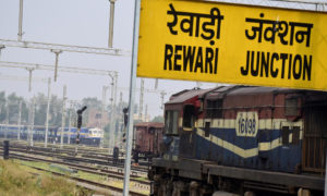 Train Line, Electrified, Tender, Haryana