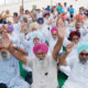 Leaders, Protest, Govt Policy, Workers, Villagers, Bus, Punjab