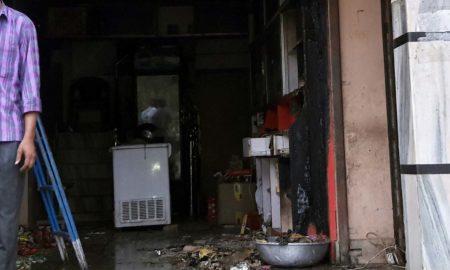 Fire, Shop, Short Circuit, Loss, Rajasthan