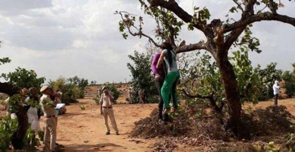 Couple, Hanging, Tree, Police, Rajasthan