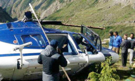 Helicopter, Crash, Badrinath, Accident